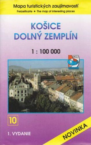 Košice - Dolný Zemplín 1:100 000 cena od 85 Kč