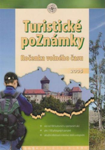 Turistické poznámky - ročenka volného času 2005 cena od 121 Kč