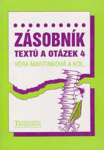 Zásobník textů a otázek 4. cena od 70 Kč