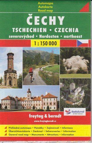 Čechy 1:150 000 cena od 86 Kč