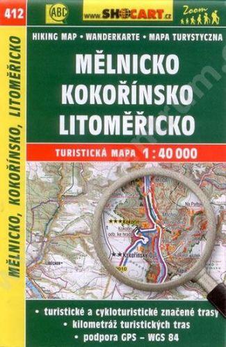 CTM Mělnicko Kokořínsko Litoměřicko 412 1:40T cena od 79 Kč