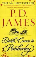 XXL obrazek James, P D: Death Comes to Pemberley
