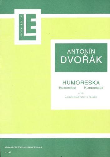 Dvořák Antonín: Humoreska op 101/7 cena od 57 Kč