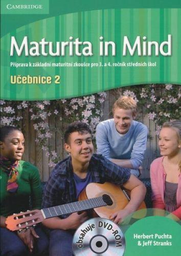 Maturita in Mind - Ucebnice 2 + Pracovní sešity 3 + 4 cena od 790 Kč