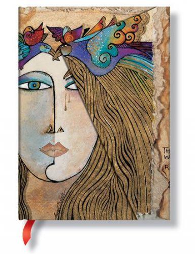 Zápisník - Soul & Tears Wrap, midi 120x170 cena od 349 Kč