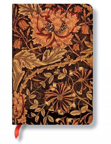 Zápisník - Morris Honeysuckle, mini 95x140 cena od 256 Kč