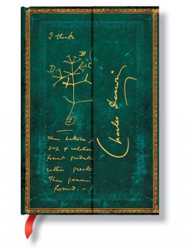 Zápisník - Darwin, Tree of Life, mini 95x140 cena od 0 Kč