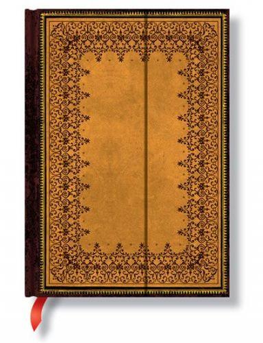 Zápisník - Embossed Wrap, midi 120x170 cena od 393 Kč