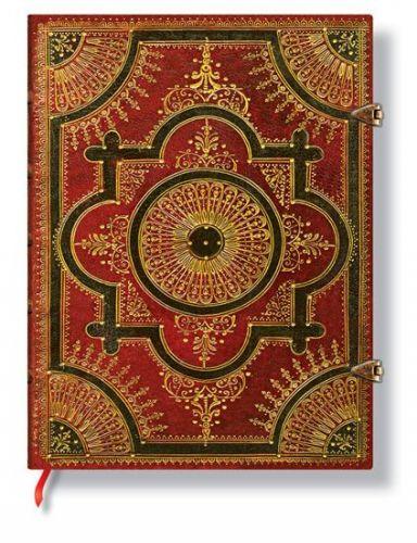 Zápisník - Ventaglio Rosso, ultra 180x230 Lined cena od 628 Kč