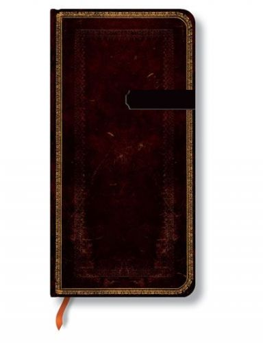 Zápisník - Black Moroccan, slim 90x180 cena od 256 Kč