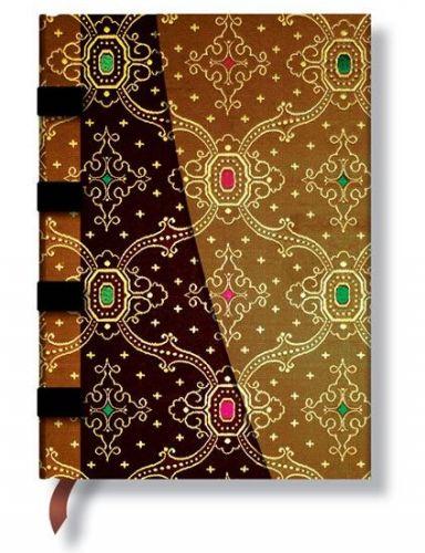Zápisník - Noir-Cuivre Wrap, midi 120x170 cena od 347 Kč