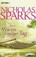 Sparks Nicholas: Wie ein einziger Tag cena od 242 Kč