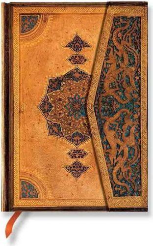 Zápisník - Safavid, midi 120x170 Unlined cena od 400 Kč