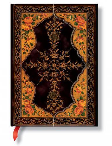 Zápisník - Wild Rose, midi 120x170 cena od 385 Kč