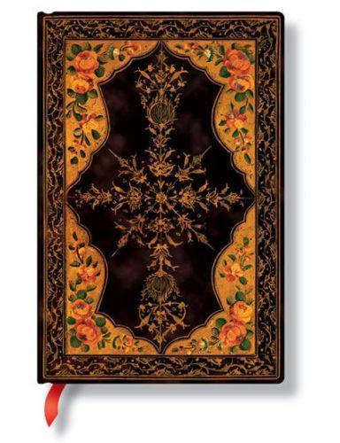 Zápisník - Wild Rose, mini 95x140 cena od 0 Kč