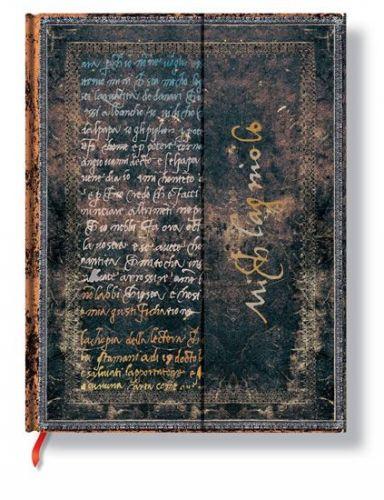 Zápisník - Michelangelo, Handwriting, ultra 180x230 cena od 366 Kč