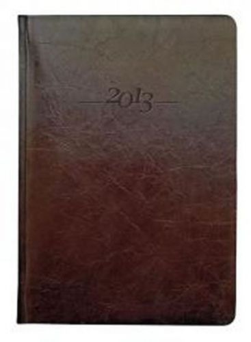 Diář kožený 2013 - CARUS hnědý - týdenní A5 cena od 1141 Kč
