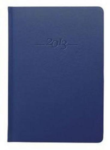 Diář kožený 2013 - CARUS modrý - denní A5