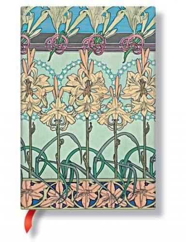 Zápisník - Tiger Lily, mini 95x140 cena od 256 Kč