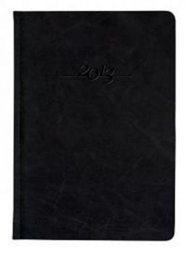 Diář kožený 2013 - CARUS černý - týdenní B5 cena od 1191 Kč