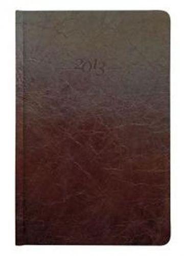 Diář kožený 2013 - CARUS hnědý - týdenní B5 cena od 1189 Kč