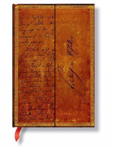 Zápisník - Schiller, Letter to Goethe, mini 95x140 cena od 0 Kč