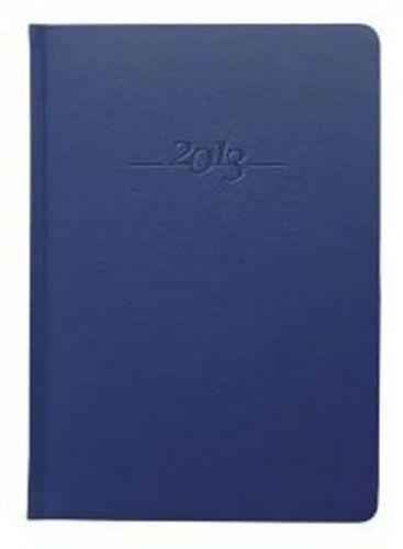 Diář kožený 2013 - CARUS modrý - President