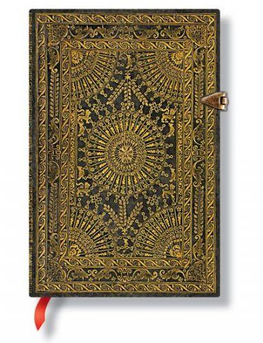 Zápisník - Ventaglio Marrone, mini 95x140 Lined cena od 499 Kč