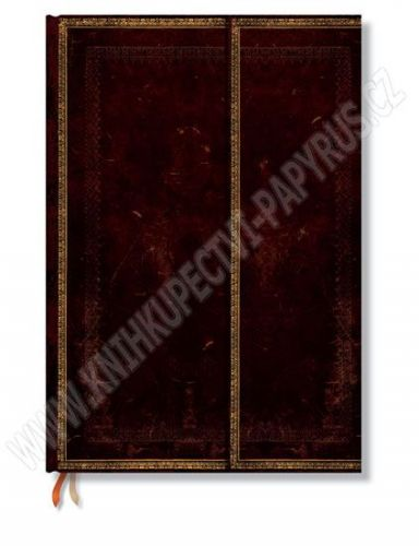 Zápisník - Black Moroccan Wrap, Grande 210x300 cena od 832 Kč