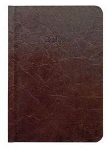 Diář kožený 2013 - CARUS hnědý - kapesní cena od 0 Kč