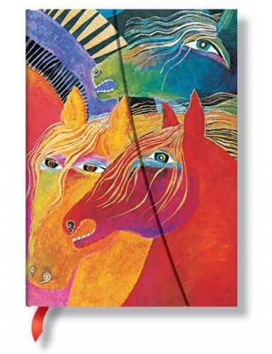 Zápisník - Wild Horses of Fire Wrap, midi 120x170 cena od 311 Kč
