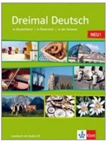 Dreimal Deutsch NEU - učebnice + CD cena od 391 Kč