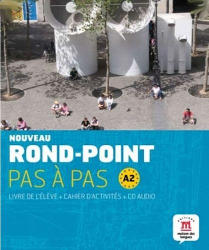 Rond-Point pas a pas A2 – L. de lél. + C. dex. + CD cena od 502 Kč