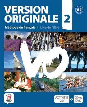 Version Originale 2 Livre de l´éleve + CD + DVD cena od 517 Kč