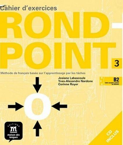 Rond-point 3 – Cahier dexercices + CD cena od 280 Kč
