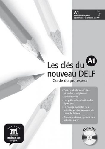 Les clés du Nouveau DELF A1 – Guide péd. + CD cena od 221 Kč
