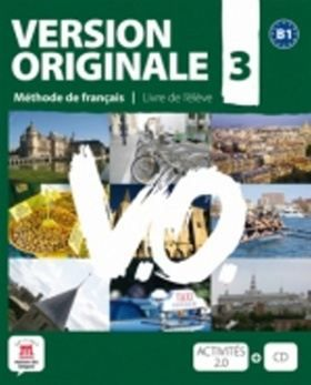XXL obrazek Version Originale 3 Livre de l´éleve + CD + DVD