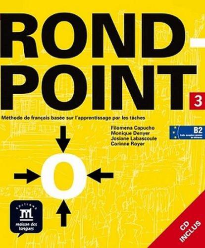 Rond-point 3 – Livre de léleve + CD cena od 465 Kč
