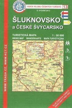 KČT 13 Šluknovsko a České Švýcarsko cena od 94 Kč