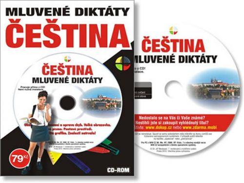 Český jazyk – Mluvené diktáty – učivo ZŠ a SŠ - CD cena od 53 Kč