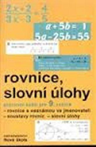 Kolektiv autorů: Rovnice, slovní úlohy PS 9. roč. cena od 27 Kč