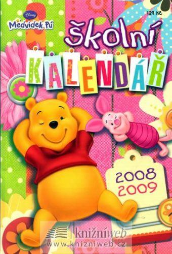 Medvídek Pú - školní kalendář 2008/2009 cena od 91 Kč