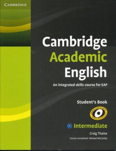 Craig Thaine: Cambridge Academic English B1+ Student's Book Intermediate cena od 476 Kč