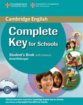 Complete Key for Schools - Student's Book with answers with CD-ROM cena od 324 Kč