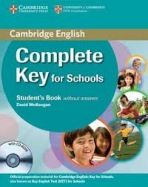 Complete Key for Schools - Student's Book without answers with CD-ROM cena od 316 Kč