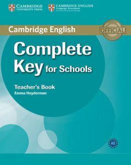 Complete Key for Schools - Teacher's Book cena od 524 Kč
