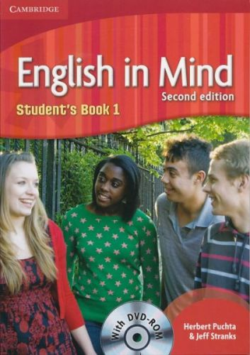 English in Mind 2nd Edition Level 1 - Student's Book + DVD-ROM cena od 376 Kč