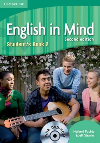 English in Mind 2nd Edition Level 2 - Student's Book + DVD-ROM cena od 376 Kč