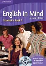 English in Mind 2nd Edition Level 3 - Student's Book + DVD-ROM cena od 376 Kč