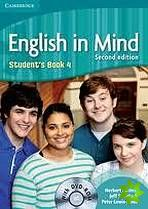 English in Mind 2nd Edition Level 4 - Student's Book + DVD-ROM cena od 376 Kč